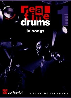 Real time drums 1 Technique de batterie par l'étude de styles avec CD / Oosterhout Arjen / De Haske