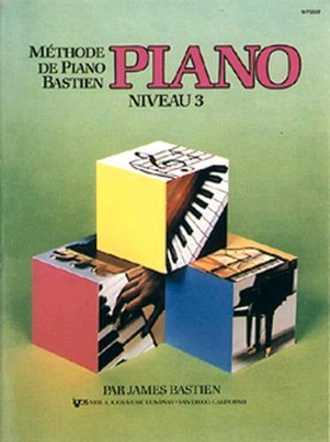Méthode de Piano Bastien Piano Niveau 3 / Bastien James / Kjos Music Co
