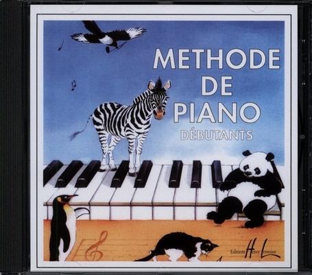 Méthode de piano débutants CD – uniquement le CD la méthode est l'article 118187 / Hervé et Pouillard / Henry Lemoine