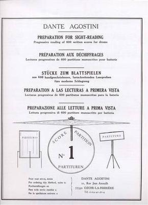 Préparation au déchiffrage – Volume 1 Dante Agostini / Dante Agostini / Agostini