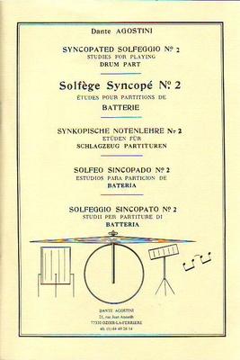 Solfège Syncopé vol. 2 / Agostini Dante / Agostini