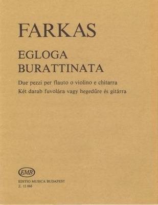 Egloga & Burattinata / Farkas Ferenc / EMB Editions Musica Budapest