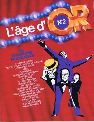 L'âge d'Or no 2, 20 chansons françaises /  / Carisch