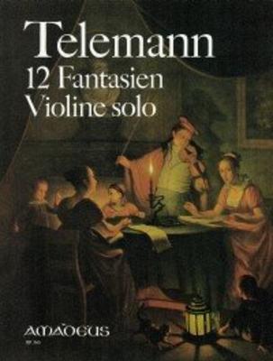 12 fantaisies TWV 40:14 à 40:25 / Telemann Georg Philip / Amadeus