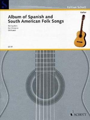 Album of spanish and south american folk songs /  / Schott