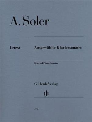 Ausgewählte Klaviersonaten / Padre Antonio Soler / Henle