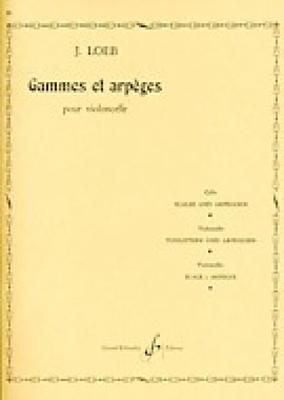 Gammes et arpèges / Loeb J. / Billaudot