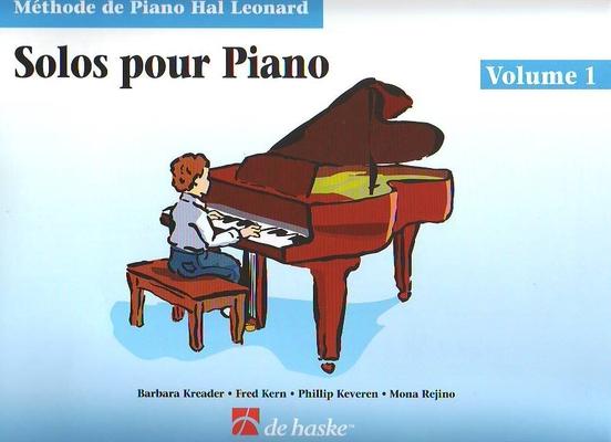 Solos pour piano vol. 1 livre / Kreader/Kern/Keveren/Rejino / De Haske