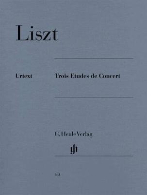 Trois études de concert Franz Liszt / Franz Liszt / Henle