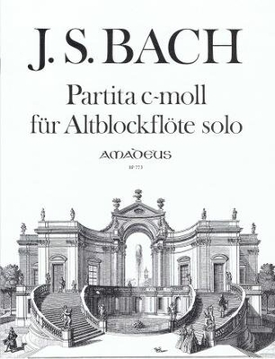 Partita en do mineur BWV 1013 / Bach Jean Sébastien / Amadeus