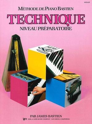 Méthode de Piano Bastien Technique Niveau Préparatoire / Bastien James / Kjos Music Co