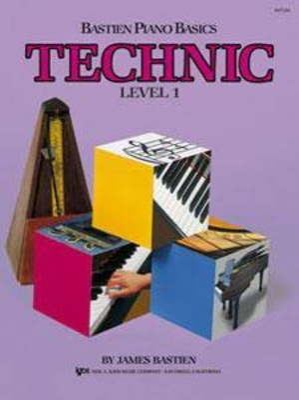 Bastien Piano Basics Technic 1 / Bastien James / Kjos Music Co