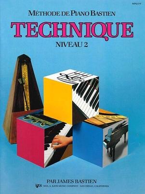 Méthode de Piano Bastien Technique Niveau 2 / Bastien James / Kjos Music Co