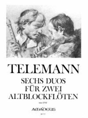 Six duos (de 1752) 6 Duos  TWV 40:124-129 (Nach dem Erstdruck von 1752) / Telemann Georg Philip / Amadeus
