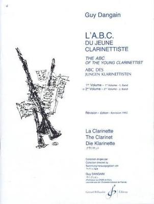 L'A.B.C. du jeune clarinettiste vol. 2 / Guy Dangain / Billaudot