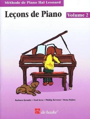 Leçons de Piano vol. 2 Méthode Hal Leonard  Klavier /  / De Haske