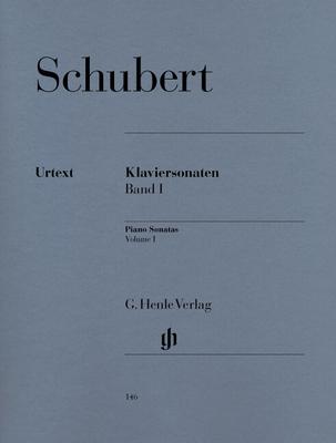 Henle Urtext Editions / Sonates Klaviersonaten Vol. 1 Piano Sonatas Book 1 Franz Schubert  G. Henle Verlag / Schubert Franz / Henle