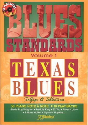 Blues standards, vol. 1 : Texas Blues / Rébillard Jean Jacques / Rebillard