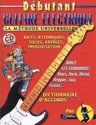 Débutant guitare électrique / Rébillard Jean Jacques / Rebillard