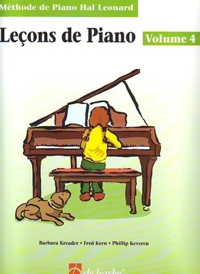 Leçons de Piano vol. 4 Méthode Hal Leonard / Kreader/Kern/Keveren / De Haske