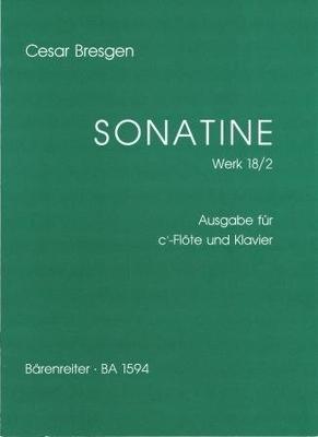 Sonatine en fa majeur op. 18/2 / Bresgen César / Bärenreiter