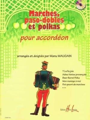 Marches paso-dobles et polkas / Maugain Manu / Henry Lemoine