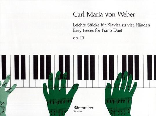Pièces faciles op. 10 / Weber Carl Maria von / Bärenreiter