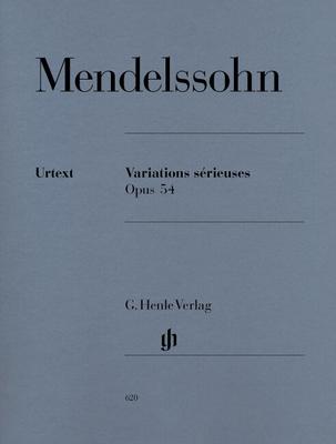 Variations Sérieuses Op. 54 / Felix Mendelssohn Bartholdy / Henle
