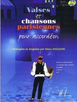 Valses et chansons parisiennes / Maugain Manu / Henry Lemoine