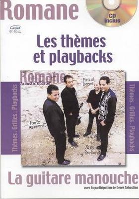 Romane La guitare manouche Les thèmes et playbacks (avec CD) / Romane / Play Music Publ.