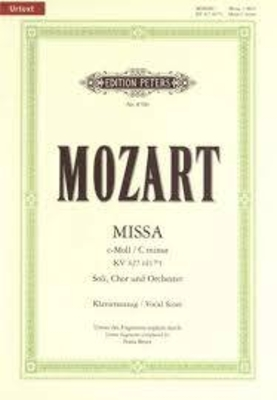 Messe en do mineur KV 427 (417a) / Mozart Wolfgang Amadeus / Peters