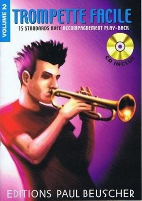 Trompette facile, Play-back, vol. 2 /  / Paul Beuscher