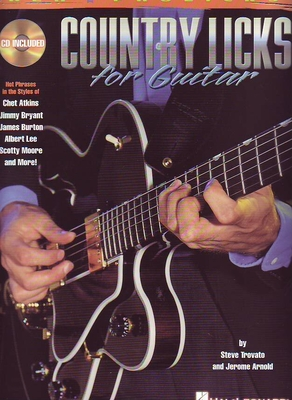Country Licks For Guitar / Trovato, Steve (Author); Arnold, Jerome (Author) / Hal Leonard