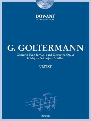3 Tempi play along / Concerto en sol majeur no 4 op. 65, violoncelle & orchestre / Goltermann Georg / Dowani