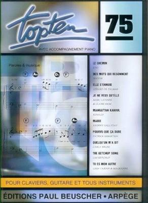 TOP / TOP Ten no 75 /  / Paul Beuscher