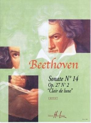 Sonate no 14 op. 27 no 2 'Clair de lune' / Beethoven Ludwig van / Henry Lemoine