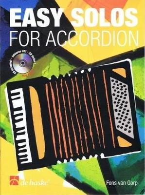 Easy solos for accordion / Gorp Fons van / De Haske