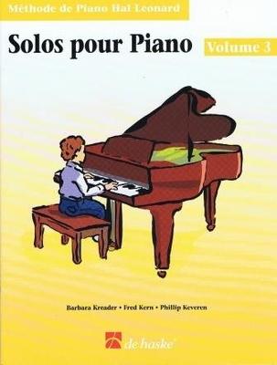 Solos pour piano vol. 3 livre /  / De Haske