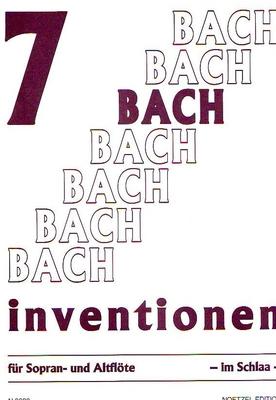 7 inventions / Bach Jean Sébastien / Noetzel