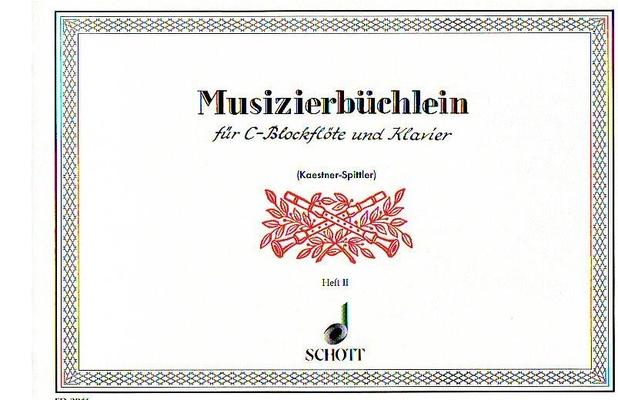 Musizierbüchlein vol. 2 / Helmut Spittler / Schott