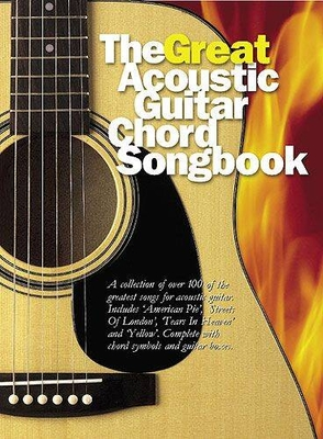 The Great Acoustic Guitar Chord Songbook /  / Wise Publications