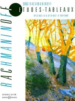 Etudes-tableaux op. 33/1-8 & op. 39/1-9 / Sergei Rachmaninov / Boosey & Hawkes