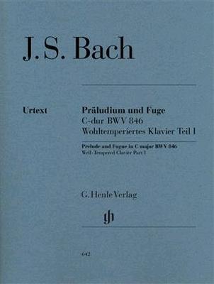 Prélude et fugue en do majeur BWV 846 / Bach Jean Sébastien / Henle