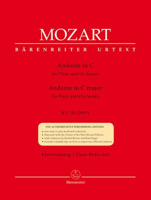 Andante en do majeur KV 315 (285e) / Wolfgang Amadeus Mozart / Franz Giegling / Bärenreiter
