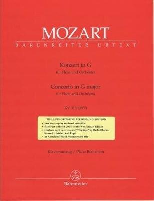 Concerto en sol majeur KV 313 (285c) / Mozart Wolfgang Amadeus / Bärenreiter