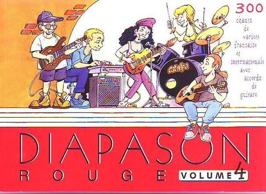 Diapason rouge, vol. 4 /  / Presses d'Ile-de-France