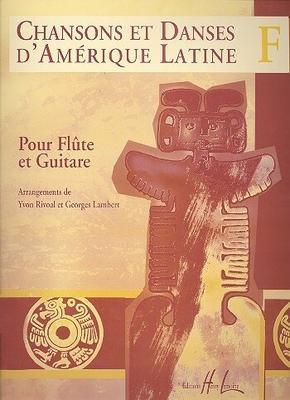 Chansons et danses d'Amérique latine, vol. F /  / Henry Lemoine