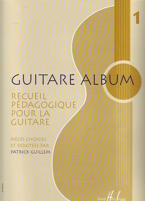 Guitare album vol. 1, recueil pédagogique /  / Henry Lemoine