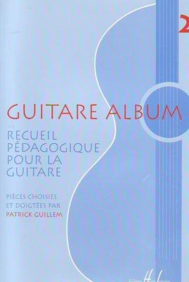 Guitare album vol. 2, recueil pédagogique /  / Henry Lemoine