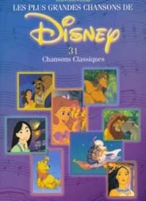 Les Plus Grandes Chansons De Disney 31 Chansons Classiques /  / Hal Leonard
